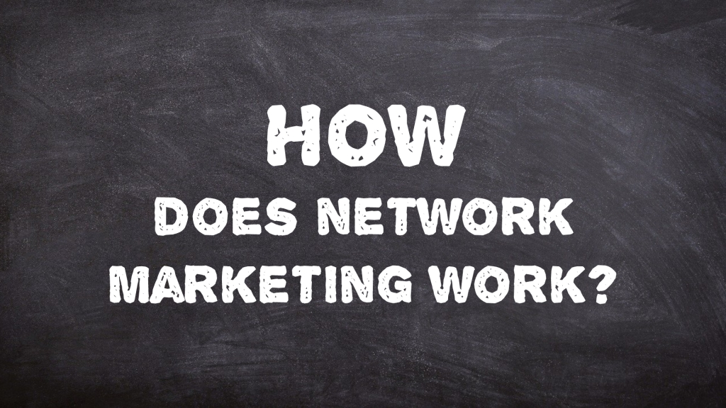 How does network marketing work